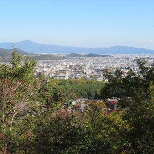 京都トレイル散策 小倉山(296M) 登頂 編