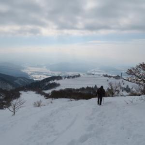 下山開始する 伊吹山 (1,377.3M)   下山 編