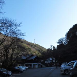 快晴の  明王山 (380M)   登頂 編