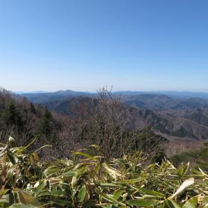 展望が素晴らしかった 蛇峠山 (1,664.4M)      登頂 編