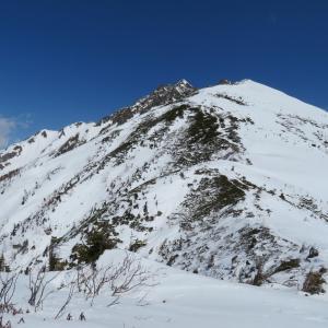 雪山を楽しんで  西穂丸山 (2,452M)     下山 編