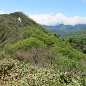 天気が悪くなってきた 大日ケ岳 (1,709.0M)   下山 編 PART 2