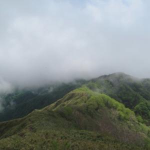 雷に追われて  大日ケ岳 (1,709.0M)     水後山下山 編   PART 3