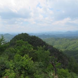 360度の展望を楽しむ 高木山 (344M)    下山 編