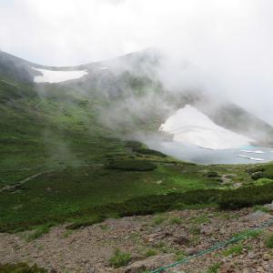 コマクサを見ながら下山 乗鞍岳 (3,025M)    下山編 PART 3