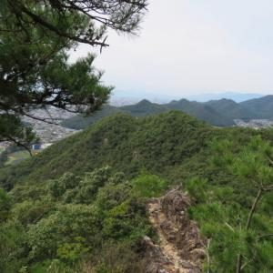 中央登山道通行禁止 三峰山 (245M)     下山編