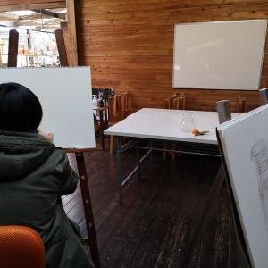 ウッドバーニング教室、デッサン教室やっています