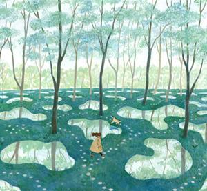 水庭の思い出と最後のMJ展