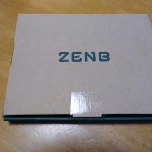 「ZENB」が届いた!!