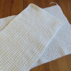 かぎ編み、途中経過