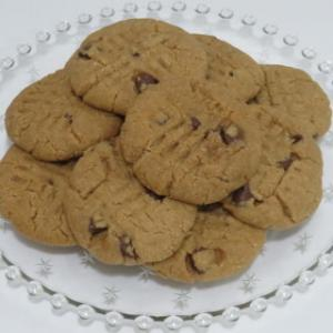 チョコチップピーナッツバタークッキー