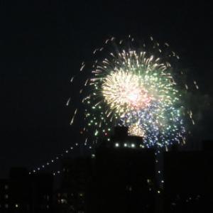 1年ぶりの独立記念花火大会