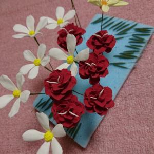 今日は花作りを…