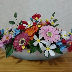 お花が完成しました!