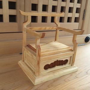 弘法大師の椅子完成!