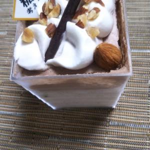 シャトレーゼ 糖質を考えたアーモンドミルクと紅茶のカップ&デザートクッキーシューアイスチョコミント