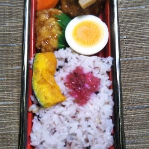 成城石井 鶏と肉団子の黒酢あん&十穀ご飯