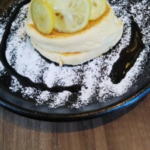 高倉町珈琲 レモンクリームリコッタパンケーキ