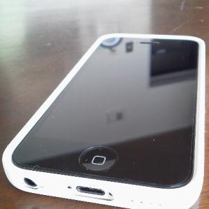 携帯電話突然死で、iPhone5cに機種変更
