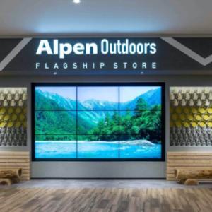 アルペンアウトドアーズフラッグシップストア(AlpenOutdoors FlagshipStore)ららぽーと愛知東郷店~日本最大級のアウトドア専門店が愛知県に初上陸!