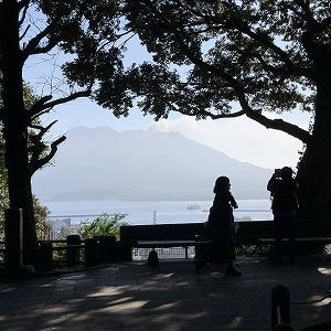 娘と弥次喜多道中 その2 池田湖イッシ―、開聞岳、知覧