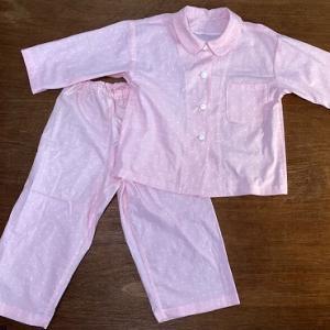 布の断捨離でパジャマ縫いあがり
