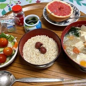 この頃の朝食