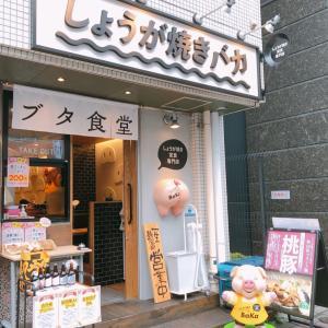 くりぃむしちゅーのハナタカ優越館で紹介されたしょうが焼き専門店