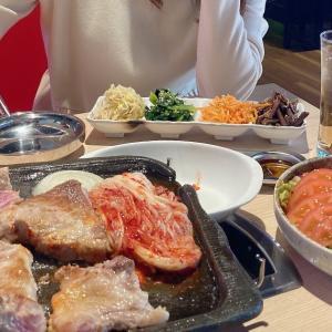 家族でサムギョプサルの専門店へ♡金ちゃん 渋谷2号店