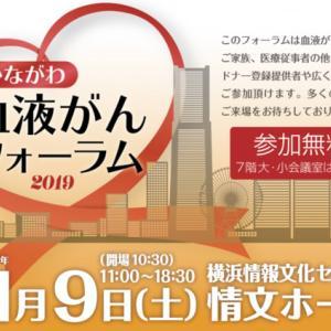 11月9日かながわ血液がんフォーラム開催!