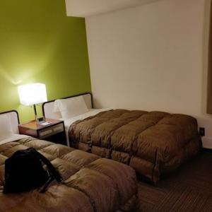 台風がきたので職場近くのホテルに泊まってみた