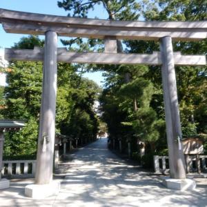 相模の国一之宮寒川神社に参拝