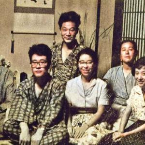 代田文誌のご家族集合写真(1962年)