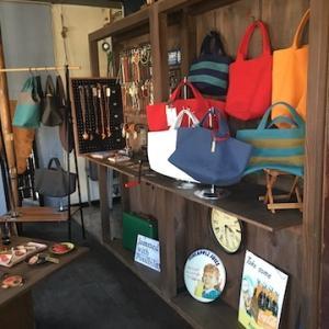 妙見市場にあった帆布バッグのお店「Jammed with Possibility(ジャムド・ウィズ・ポッシビリティー)」は中央市場の第1棟に「BASE-C96」として移転してます