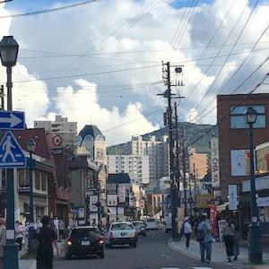 9月の連休最終日の堺町通りの様子(9月22日)