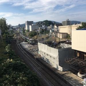 JR南小樽駅の旧跨線橋は解体されてます