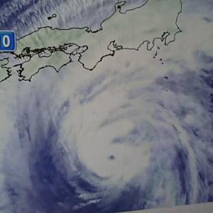 ◎危険な台風15号接近で電車は運休、店舗休業、競馬も中止