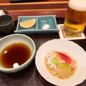 銀座で天ぷら
