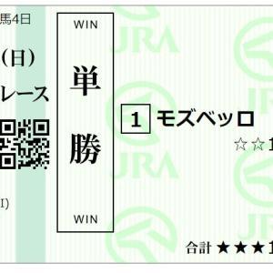 2020 天皇賞・春(G1)の予想 ◎01モズベッロ