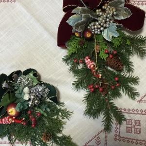 クリスマスワークショップ~スワッグ作り~