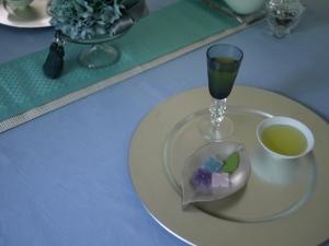 水無月のお茶会 ~紫陽花の咲く頃に~