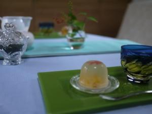 文月のお茶会 ~冷茶を愉しむ~