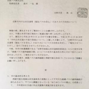 令和2年4月にゆうゆうバス廃止 京阪バスの今後は不明 交野市議会で議決