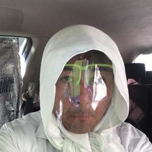 令和3年7月21日松塚でアシナガバチの巣を撃破