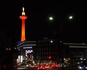 オレンジの灯り