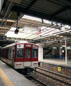 大和八木駅ホーム