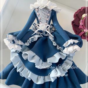 ヴィクトリアン調ドレス〜クレイクラフト