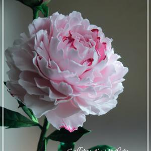 クレイも生花も芍薬の季節〜クレイフラワー