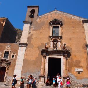 2011年夏・地中海クルーズとローマ・ヴェネチア9日間の旅・その4 タオルミーナ
