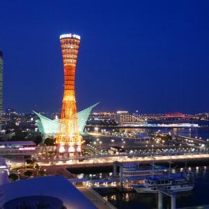神戸のホテルでちょっぴりリラックス・1